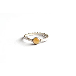 Zilveren Ring Opaal - Zilverwerk Sieraden