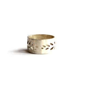 Zilveren Ring Opengewerkt - Zilverwerk Sieraden